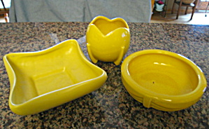 Mccoy Pottery Planters Yellow