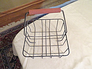 Vintage Milk Bottle Carrier