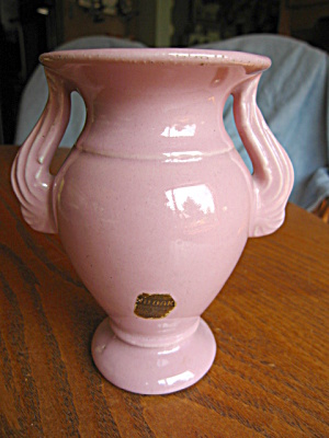 Niloak Pottery Vase W/label