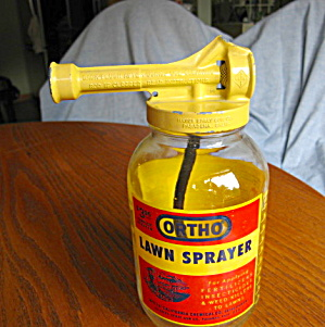 Vintage Orhto Lawn Sprayer Bottle