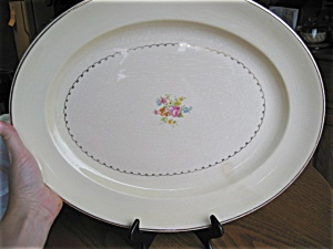 Large Paden City Pottery Platter