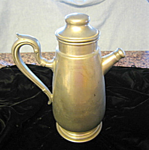 Vintage Pewter Pitcher Flagon