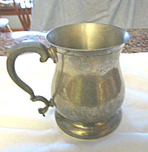 Vintage English Pewter Tankard