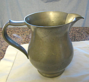 Antique Pewter Pitcher American