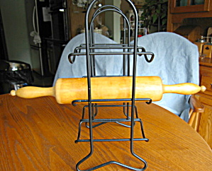 Metal Rolling Pin Rack & Pin