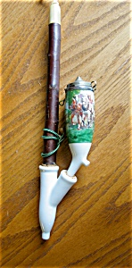 Vintage Porcelain Pipe Hp