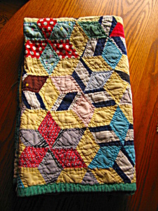 Antique Small Quilt Hand Stitched