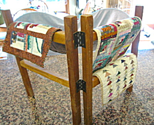 Miniature Quilts And Rack