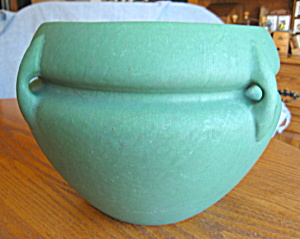 Roseville Matte Green Antique Jardiniere