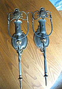 Antique Wall Sconces Brass