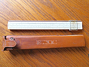 Collectible Keuffel & Esser Slide Rule