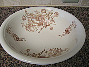 Antique Staffordshire Transferware Bowl
