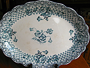 Antique Staffordshire Platter