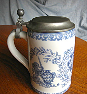 Hand Painted Porcelain Stein