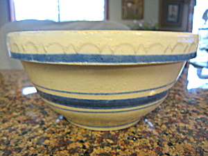 Stoneware Antique Shoulder Bowl W/star