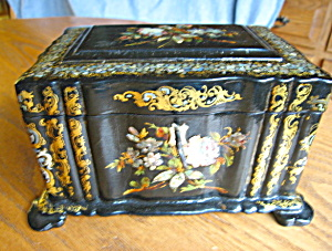 English Antique Tea Caddy