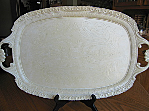 Vintage Italian Metal Painted Tray