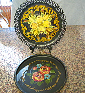 Painted Trays Vintage