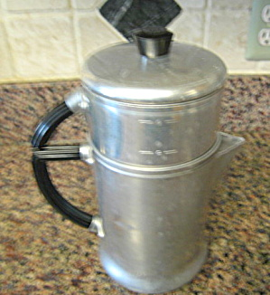 Vintage Wear-ever Drip Coffeepot