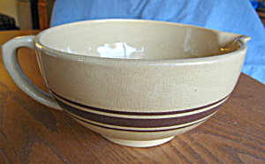 Vintage Yellow Ware Batter Bowl