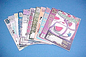 Lot Of 11 Workbasket Magazines Knit Crochet 1983 - 1990