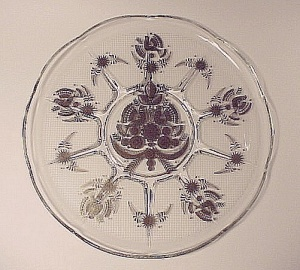 Georges Briard Sonata 11 In Round Tray Plate Platter