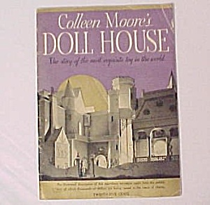 Colleen Moore's Doll House Book Toy Miniature Castle