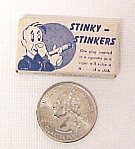 Stinky Stinkers Cigarette Cigar Plug Gag Gift Bar Party