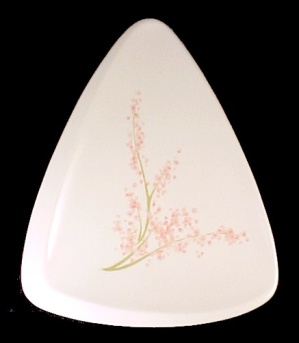 Melmac Plate Flower Drum Fragrance Rexall Advertising