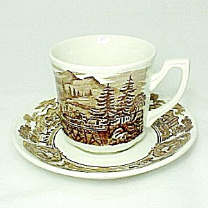 J & G Meakin American Legend Ironstone China Cup Saucer