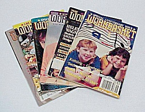 Lot Of 6 Workbasket Magazines Knit Crochet 1990 To 1992