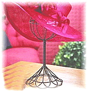 Twisted Wire Bronze Vintage Style Hat Stand