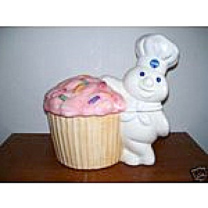 Pillsbury Doughboy Funfetti Rare Cookie Jar
