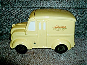 Schwan's 1950 Delivery Truck Cookie Jar Ltd.