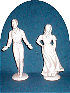 Roselane Couple Figurines