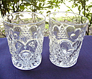 Heart With Thumbprint Tumblers (2)