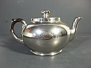 Silver Color Tea Pot By Sadler