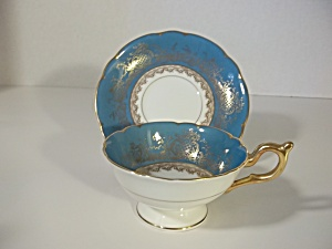 Coalport China Teacup And Saucer Victoria Regina