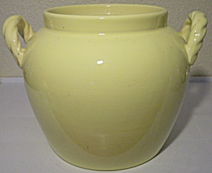 Coors Pottery Rosebud Yellow Cookie Jar