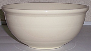 Coors Pottery Rosebud Very Rare Ivory Mixing Bowl