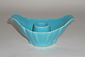 Bauer Pottery Cal-art Ray Murray Turquoise Candlestick