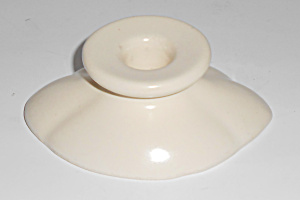 Weller Pottery Seneca Ivory Candlestick Holder