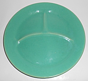 Bauer Pottery Plain Ware Jade Grill Plate Mint