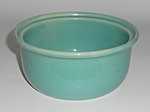 Coors Pottery Rosebud 5in Green Straight Casserole