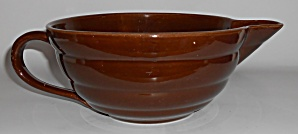Bauer Pottery Gloss Pastel Kitchenware Brown 2-quart