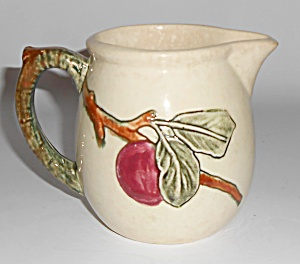 "Weller Pottery Zona Apple 4"" Pitcher"