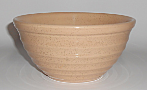 Bauer Pottery Ring Ware Tan Speckle #24 Mixing Bowl