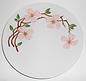 California Ceramics Orchard Ware Pink Dogwood Dinner Pl