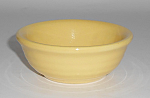 Bauer Pottery Ring Ware Yellow Nut Cup Mint