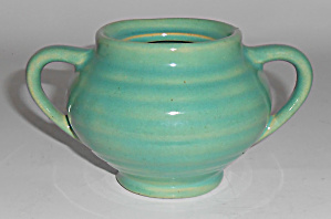 Bauer Pottery Ring Ware Jade Demi Sugar Bowl - No Lid
